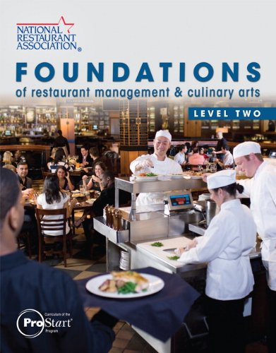 Foundations of Restaurant Management and Culinary Arts Level 2  2011 edition cover
