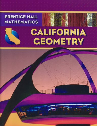 California Geometry   2007 (Student Manual, Study Guide, etc.) edition cover