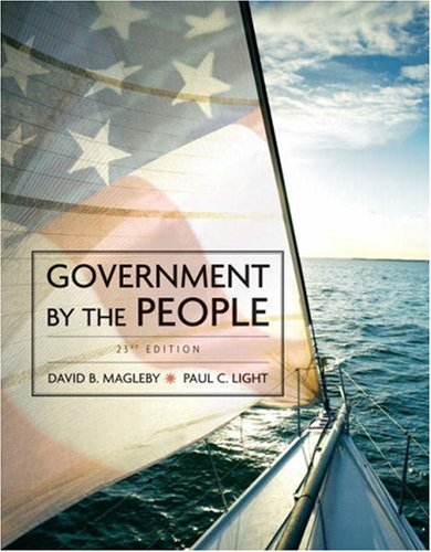 Government by the People, 2009 Edition  23rd 2009 9780136062226 Front Cover