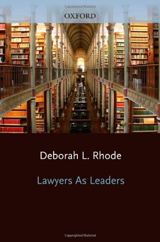 Lawyers As Leaders   2013 edition cover