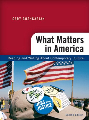 What Matters in America  2nd 2010 edition cover