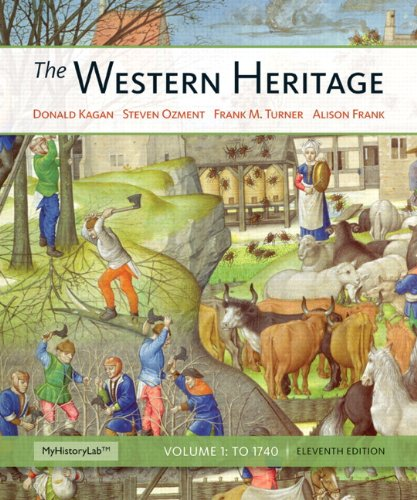 Western Heritage - To 1740  11th 2013 edition cover