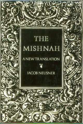 Mishnah A New Translation Reprint edition cover