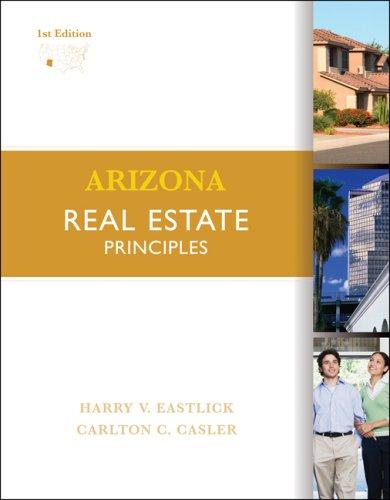 Arizona Principles of Real Estate   2008 edition cover