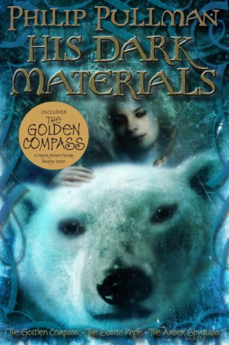 His Dark Materials The Golden Compass - The Subtle Knife - The Amber Spyglass  2007 edition cover