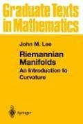 Riemannian Manifolds An Introduction to Curvature  1997 edition cover