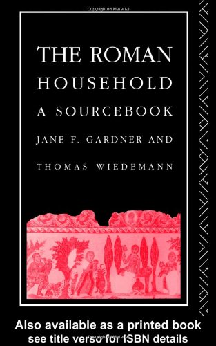 Roman Household A Sourcebook  1991 edition cover