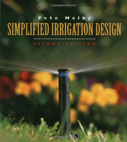 Simplified Irrigation Design  2nd 1995 (Revised) edition cover