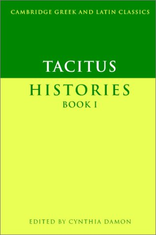 Tacitus Histories  2003 edition cover