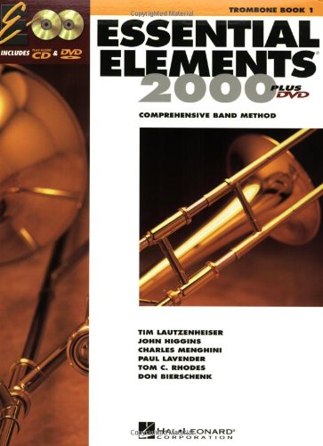 Essential Elements for Band Trombone  2004 edition cover