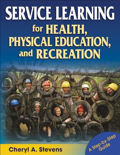 Service Learning for Health, Physical Education, and Recreation   2008 edition cover