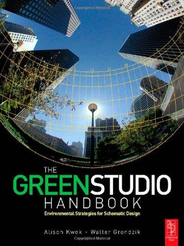 Green Studio Handbook Environmental Strategies for Schematic Design  2006 edition cover