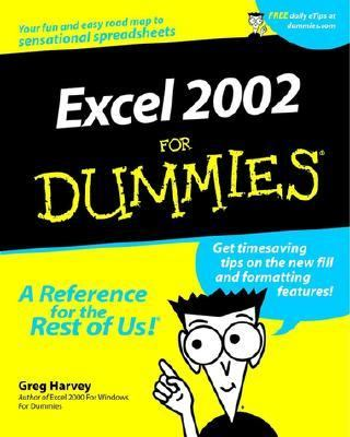 Excel 2002 for Dummies�   2001 9780764508226 Front Cover