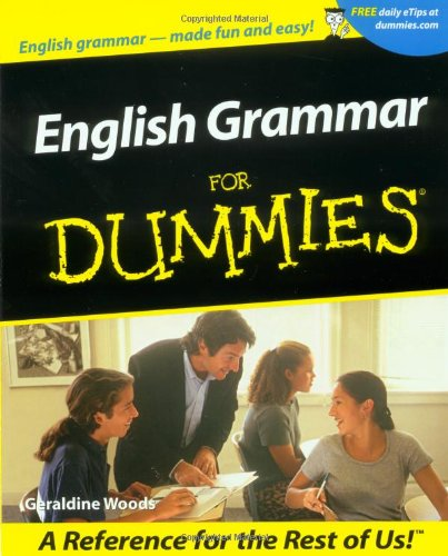 English Grammar for Dummies   2001 edition cover