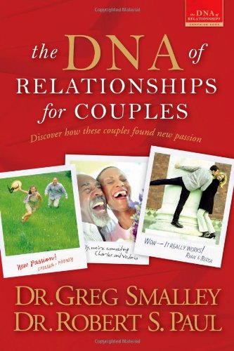 DNA of Relationships for Couples   2006 9780842383226 Front Cover