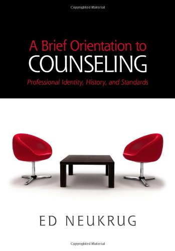 Brief Orientation to Counseling   2014 edition cover