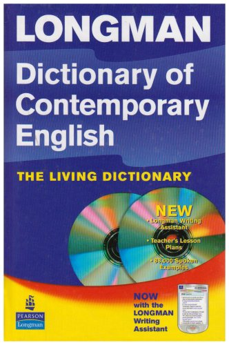 Longman Dict Contemporary English 4th (Dictionary & CD Rom) N/A 9781405862226 Front Cover