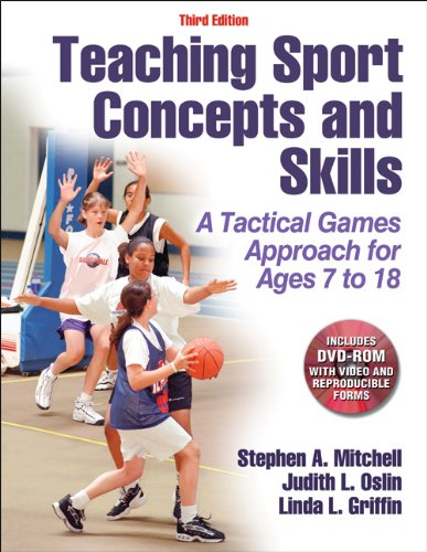 Teaching Sport Concepts and Skills: A Tactical Games Approach for Ages 7 To18  2013 edition cover