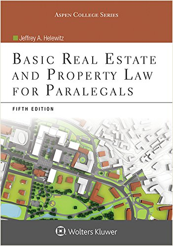 Basic Real Estate and Property Law for Paralegals  5th 2015 edition cover