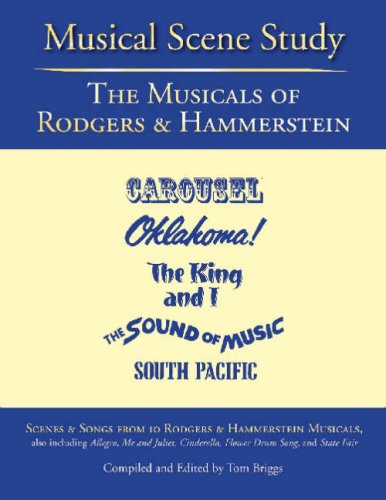 Musical Scene Study The Musicals of Rodgers and Hammerstein N/A edition cover