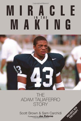 Miracle in the Making The Adam Taliaferro Story  2001 edition cover