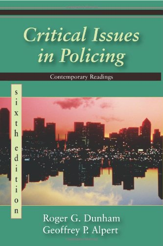 Critical Issues in Policing  6th 2009 edition cover