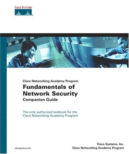 Fundamentals of Network Security Companion Guide   2004 edition cover