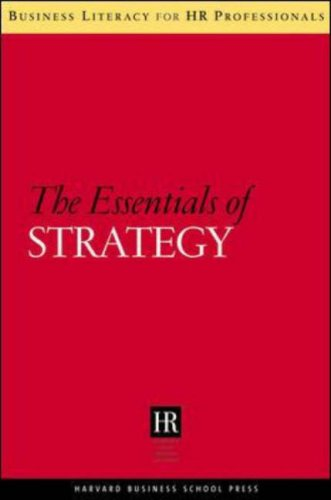 Essentials of Strategy   2007 edition cover