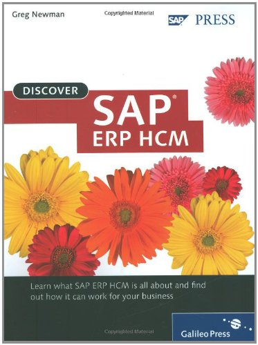 Discover SAP ERP HCM  N/A edition cover