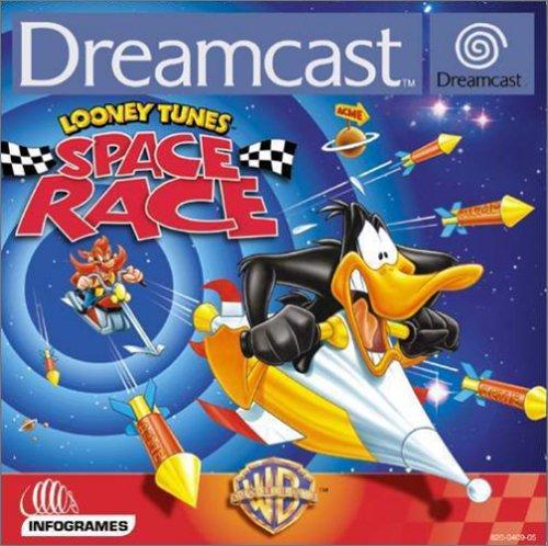 Looney Tunes - Space Race Sega Dreamcast artwork