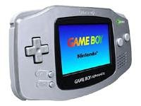 Game Boy Advance - Limited Edition Platinum Game Boy Advance artwork