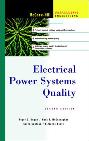 Electrical Power Systems Quality  2nd 2003 (Revised) edition cover