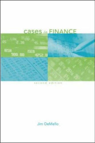 Cases in Finance  2nd 2006 (Revised) edition cover
