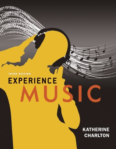 Experience Music:  2011 edition cover
