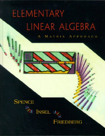 Elementary Linear Algebra A Matrix Approach  2000 9780137167227 Front Cover