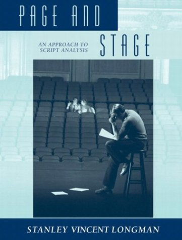 Page and Stage An Approach to Script Analysis  2004 edition cover