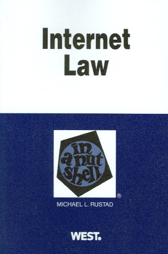 Internet Law in a Nutshell  N/A edition cover