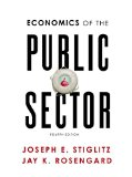 Economics of the Public Sector:   2015 edition cover