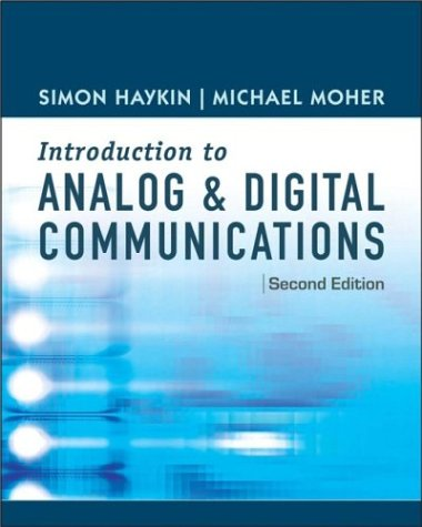 Introduction to Analog and Digital Communications  2nd 2007 edition cover