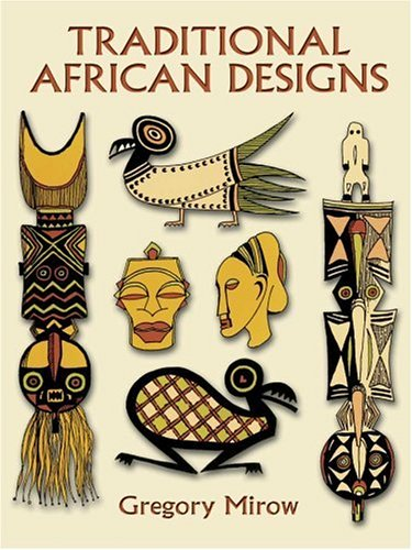 Traditional African Designs   1997 edition cover