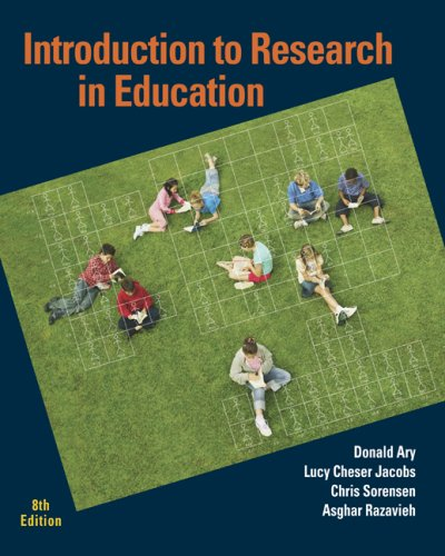 Introduction to Research in Education  8th 2010 edition cover