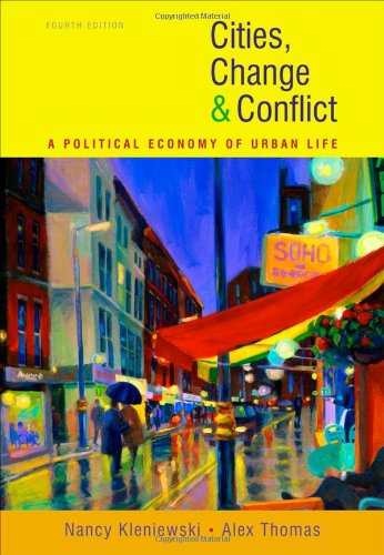 Cities, Change, and Conflict  4th 2011 edition cover