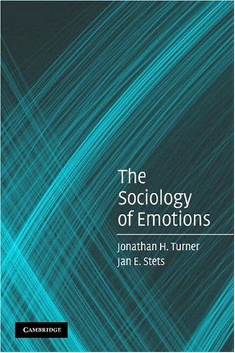 Sociology of Emotions   2005 edition cover