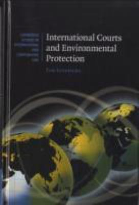 International Courts and Environmental Protection   2009 9780521881227 Front Cover