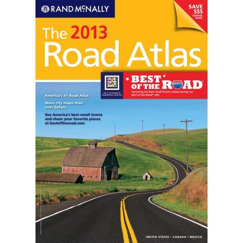 Rand Mcnally Road Atlas: United States, Canada, Mexico   2012 edition cover