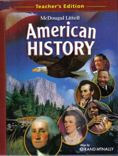 American History (TE)  2008 9780618815227 Front Cover