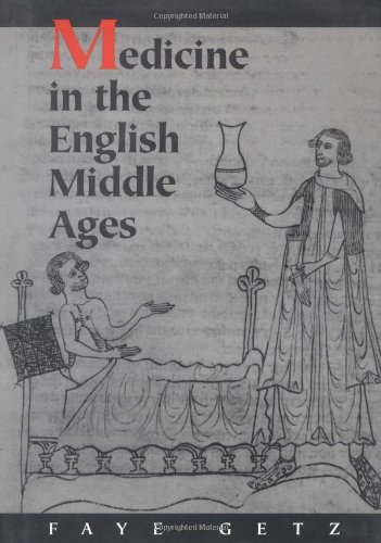 Medicine in the English Middle Ages   1998 edition cover