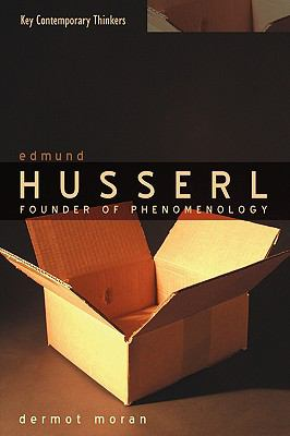 Edmund Husserl Founder of Phenomenology  2005 9780745621227 Front Cover