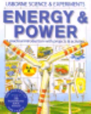 Energy and Power  Activity Book  9780746004227 Front Cover
