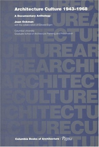 Architecture Culture 1943-1968  1993 edition cover